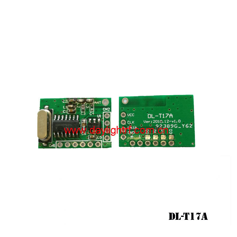 wireless transmitter module with 1527 format encode DL-T17A