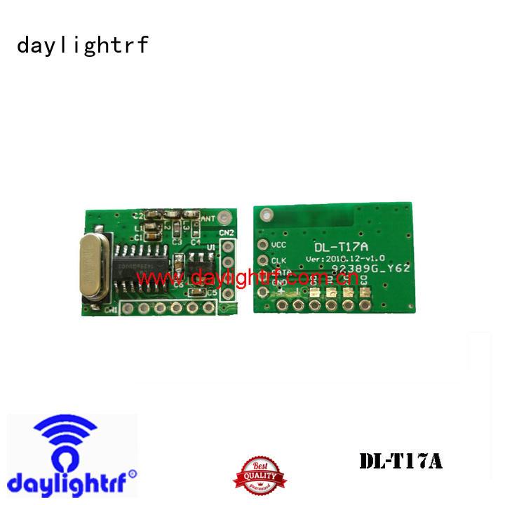 daylightrf plastic case rf transmitter with saw resonator wholesale