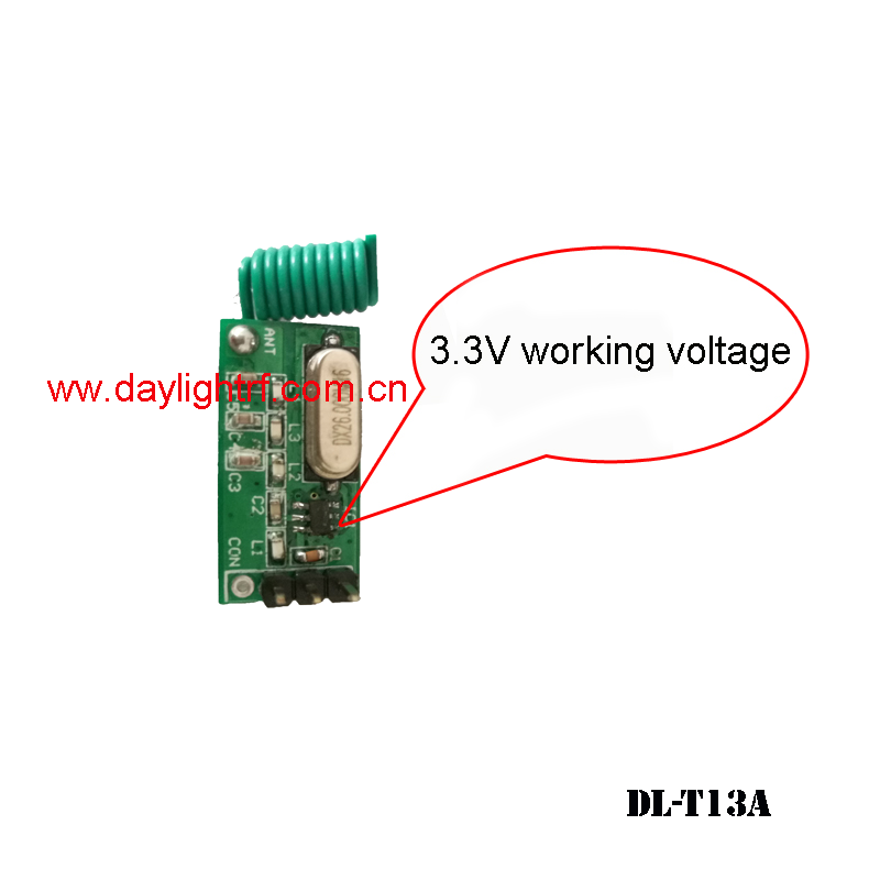 wireless transmitter module with sleeping function DL-T13A