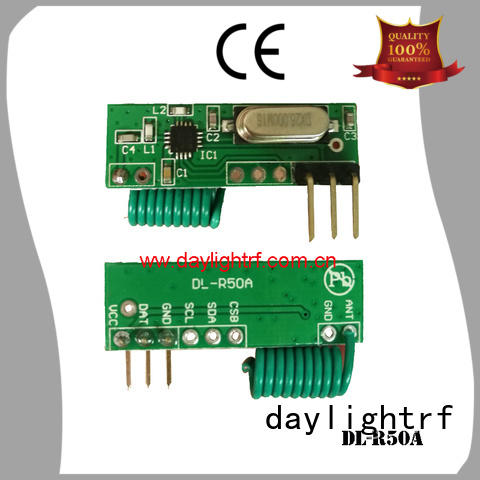 efficient rf receiver module with saw resonator fast delivery