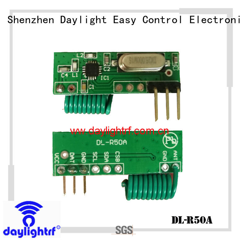 daylightrf efficient rf remote control receiver fast delivery