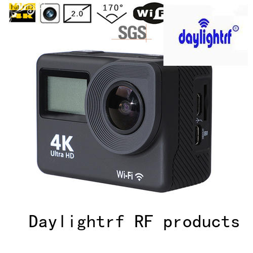 daylightrf waterproof action camera manufacturer for parkour