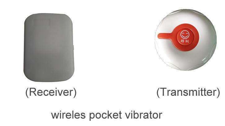 Wireless pocket vibrator