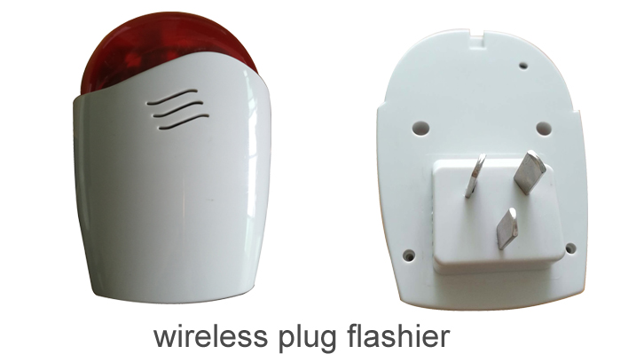wireless wall plug flashier assembling