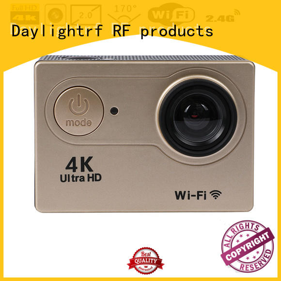 daylightrf dual display 4k ultra hd action camera supply for skiing