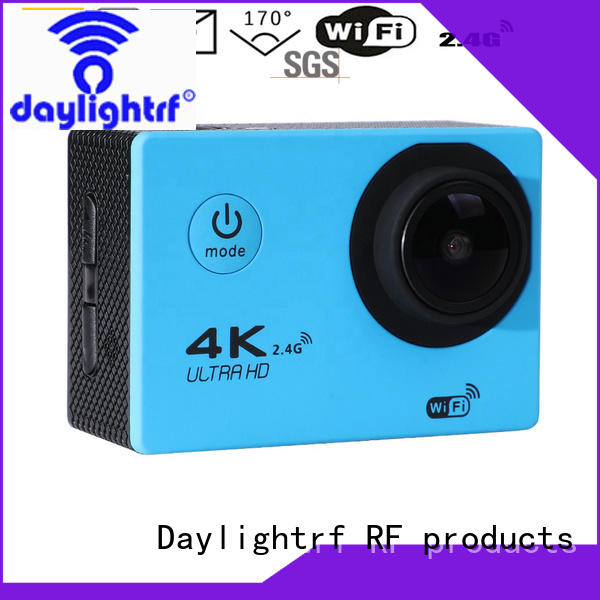 sports camera with lcd display for skiing daylightrf