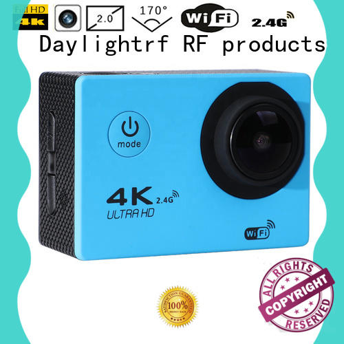 daylightrf sport action camera with low temperature resistance for sports