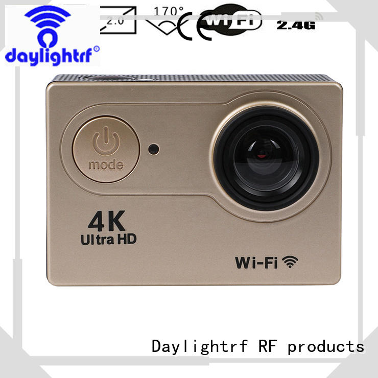 daylightrf sports camera with lcd display for sports