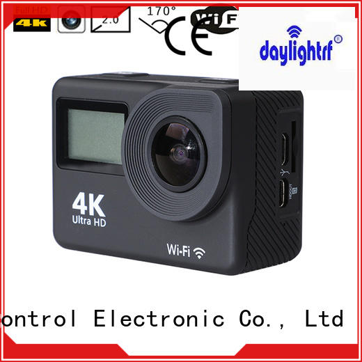 daylightrf best action camera with lcd display for hiking