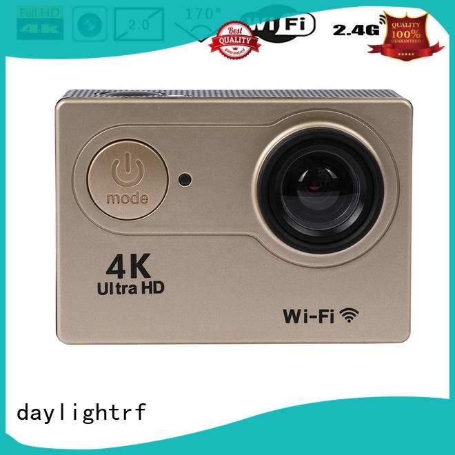 daylightrf waterproof action camera supply for hiking