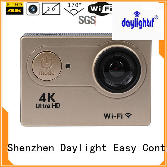 daylightrf professional best action camera with high temperature resistance for parkour